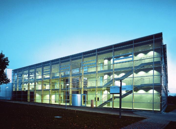 Das IFF-Gebäude im Allmandring 35